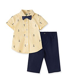 Baby Boys Anchor Pant Set