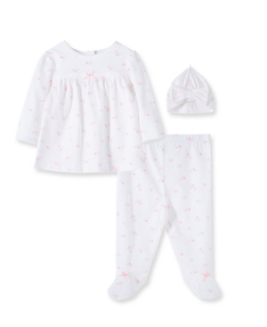 Little Me BABY GIRLS GARDEN TUNIC SET