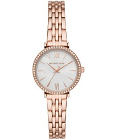 Women's Maisie Three-Hand Rose Gold-Tone Stainless Steel Bracelet Watch 28mm