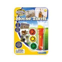 Brainstorm Toys Horse Flashlight and Projector with 24 Horse Images