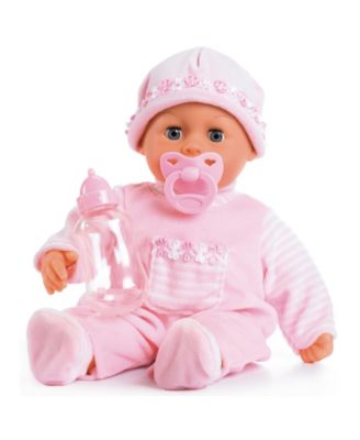 """First Words 15"""" Baby Doll in Soft Pink"""