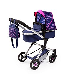 Baby Doll City Vario Pram Baby Doll Stroller with Diaper Bag