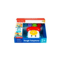 Fisher Price Dough Telephone with 3 Pots of Dough Set