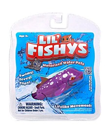 Lil Fishys Fish Motorized Water Pet (Colors May Vary)