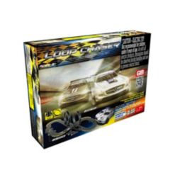 Loop Chaser Road Racing Slot Car Set - Electric Powered