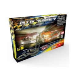 Big Racer Road Racing Slot Car Set - Electric Powered