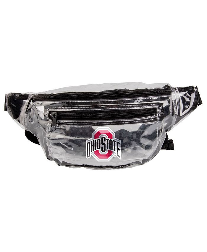 Forever Collectibles - Ohio State Buckeyes Clear Fanny Pack