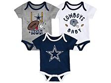 Dallas Cowboys Newborn Champ 3 Piece Set