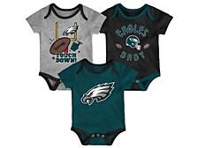 Philadelphia Eagles Newborn Champ 3 Piece Set