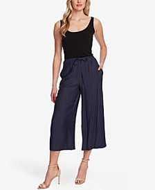 Women's Cropped Wide Leg Pant