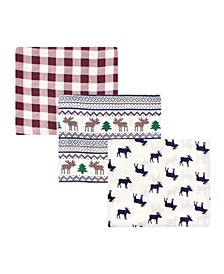 Baby Boys and Girls Cotton Muslin Swaddle Blankets