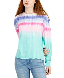 Juniors' Tie-Dyed Top
