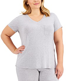 Plus Size Pajama T-Shirt, Created for Macy's