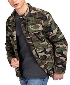 Men's Utility Poplin Jacket