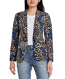 Anastasia Floral-Print Jacket, Created for Macy's