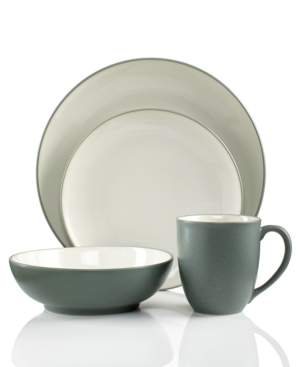 Noritake Colorwave Green Coupe 4Piece Place Setting