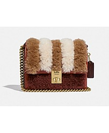Patchwork Shearling Hutton Bag 18