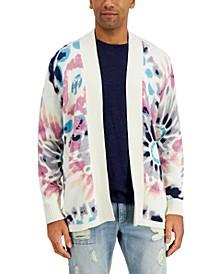 Men's Men's Tie-Dye Cardigan Sweater, Created for Macy's