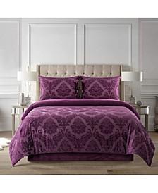 Home Tripoli 4-Piece Comforter Set, Queen