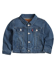 Baby Boys Truckered Jacket