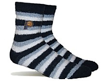 Women's Indiana Pacers Fuzzy Steps Socks