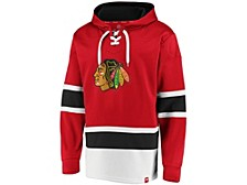 Chicago Blackhawks Men's Power Play Lace Up Hoodie