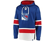 New York Rangers Men's Power Play Lace Up Hoodie
