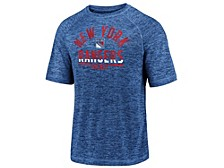 New York Rangers Men's Striated Arch T-Shirt