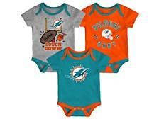 Newborn Miami Dolphins Champ 3pc. Set