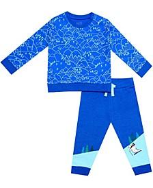 Organic Baby Boy 2-Piece Noah Pant Set
