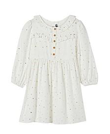 Little Girls Adeline Long Sleeve Dress