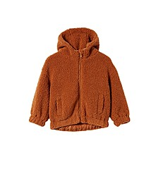 Big Girls Tallulah Teddy Hooded Jacket