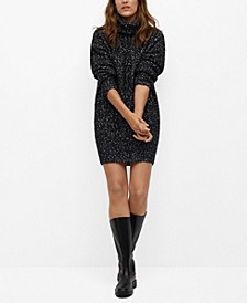 Women's Flecked Jersey Dress