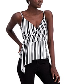 INC Draped Striped Camisole, Created for Macy's