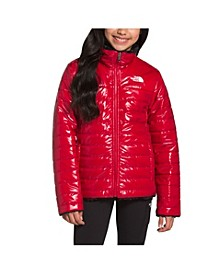 Big Girls Reversible Mossbud Swirl Jacket
