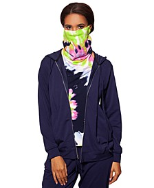Zip Up Hoodie & Removable Tie-Dye Face Mask, Created for Macy's