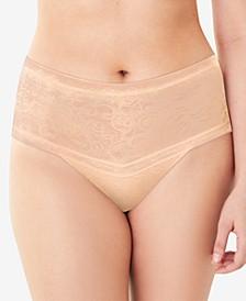 Smoothing High-Waist Thong Underwear #DMTSTG