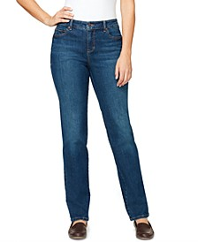 Women's Amanda Midrise Short Length Jeans