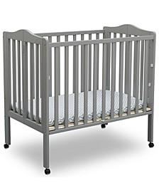 Folding Portable Mini Baby Crib with Mattress