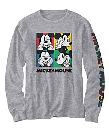 Little Boys Mickey Giggle Boxes Long Sleeve T-shirt
