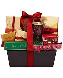 Spirit Of The Season Chocolate Gift Basket, 8 Piece Set