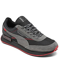 Men's Future Rider AM Casual Sneakers from Finish Line