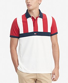Men's Larry Striped Polo Shirt