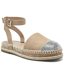Kylan Ankle-Strap Flat Espadrilles, Created for Macy's