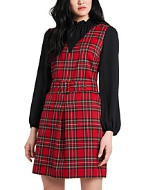 Estelle Plaid Dress, Created for Macy's