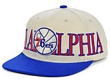 Philadelphia 76ers Hardwood Classic Winners Circle Snapback Cap
