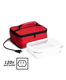Portable Personal Mini Oven with Glass Dish
