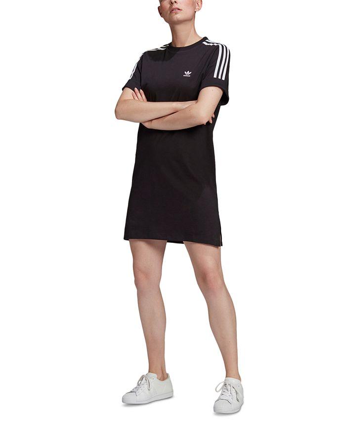 adidas Women's Cotton T-Shirt Dress & Reviews - Dresses - Women ...