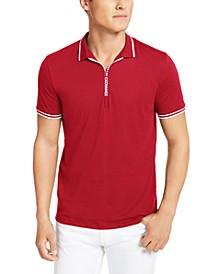 Men's Fixed Cotton Jersey Polo T-shirt
