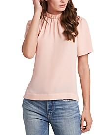 Jayne Mock-Neck Top, Created for Macy's